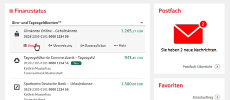 Multibanking Sparkasse Westholstein